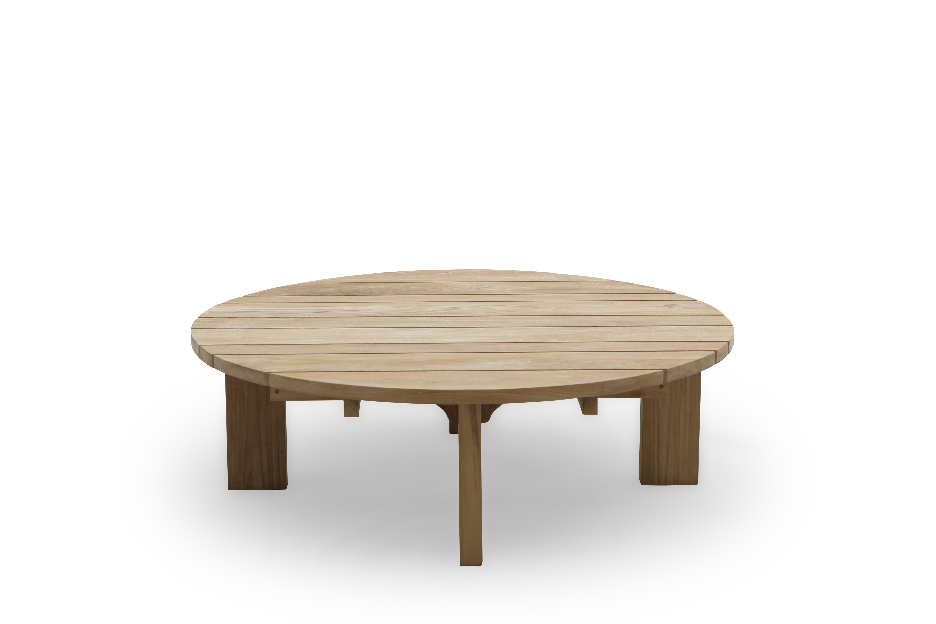 Photos of round table from front