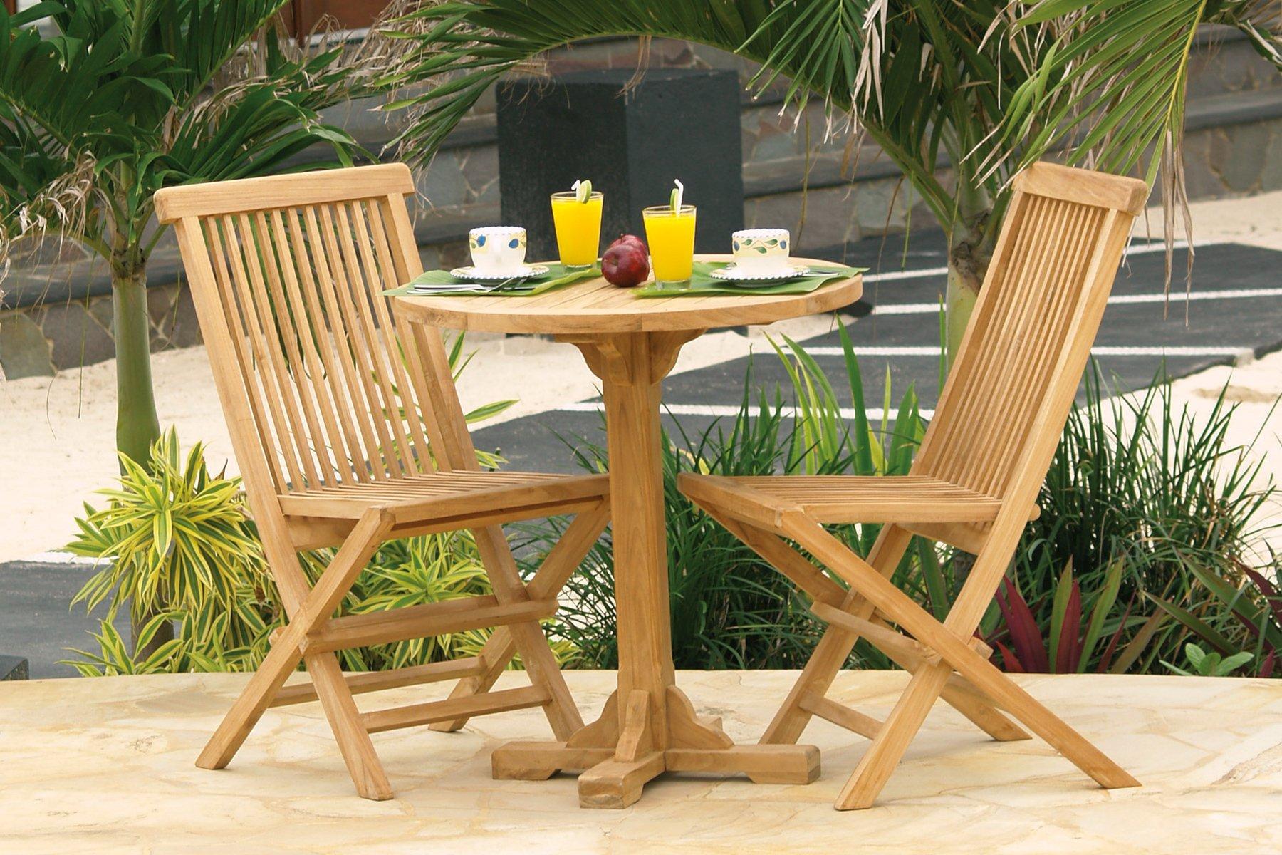 Visualizza dettagli tavolo a piede centrale rotondo il giardino di legno - Tavolo rotondo con piede centrale ...