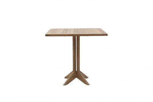 Picture of square single dining table