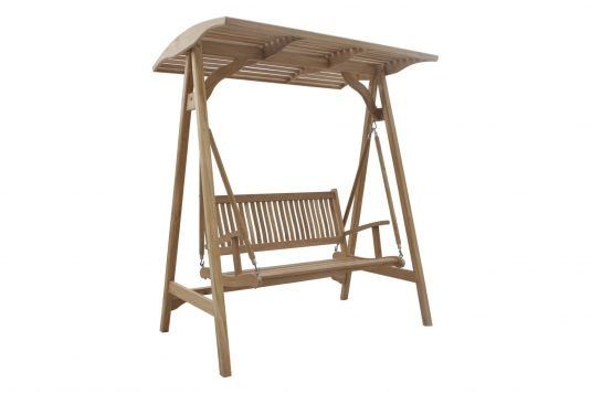 Picture of swing bench with stand and canopy