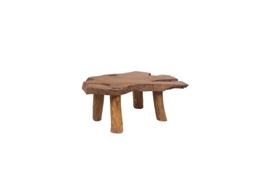 Picture of root coffee table from front