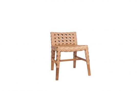 Picture of chair with oiled wood finishing