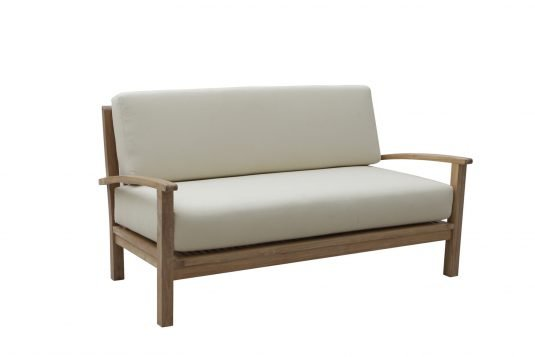 Picture of sofa with cushion from side