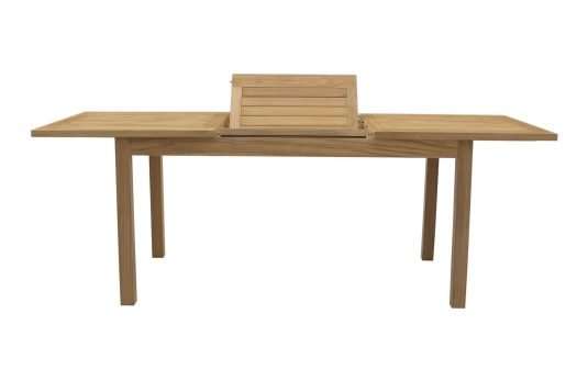 Picture of rectangular extendible dining table