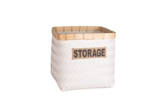 Picture of storage basket from front