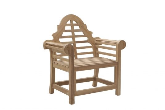 Picture of lounge chair with fine sanded finishing