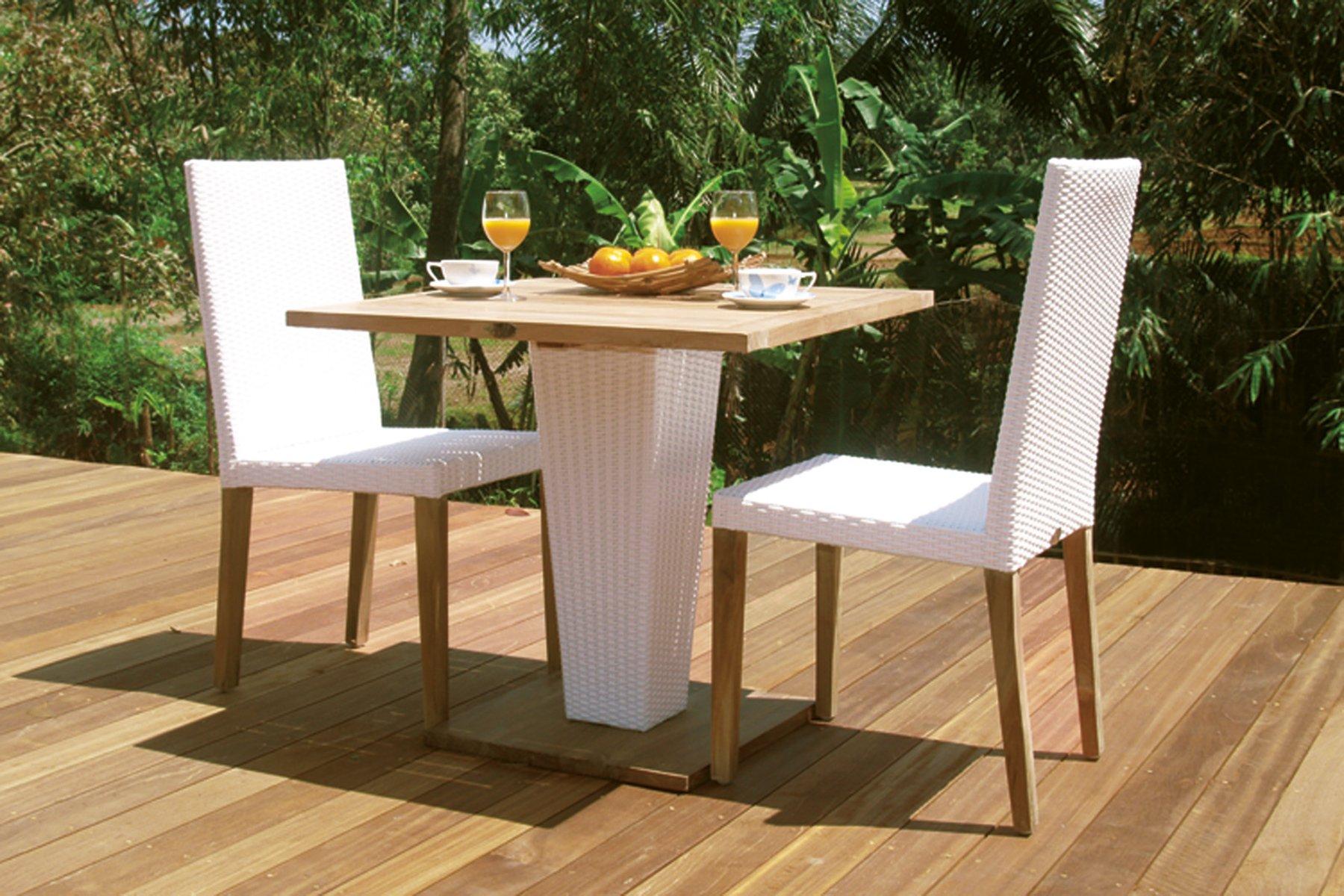 Tavolo Con Piede Centrale tavolo quadrato a piede centrale sentosa – il giardino di legno