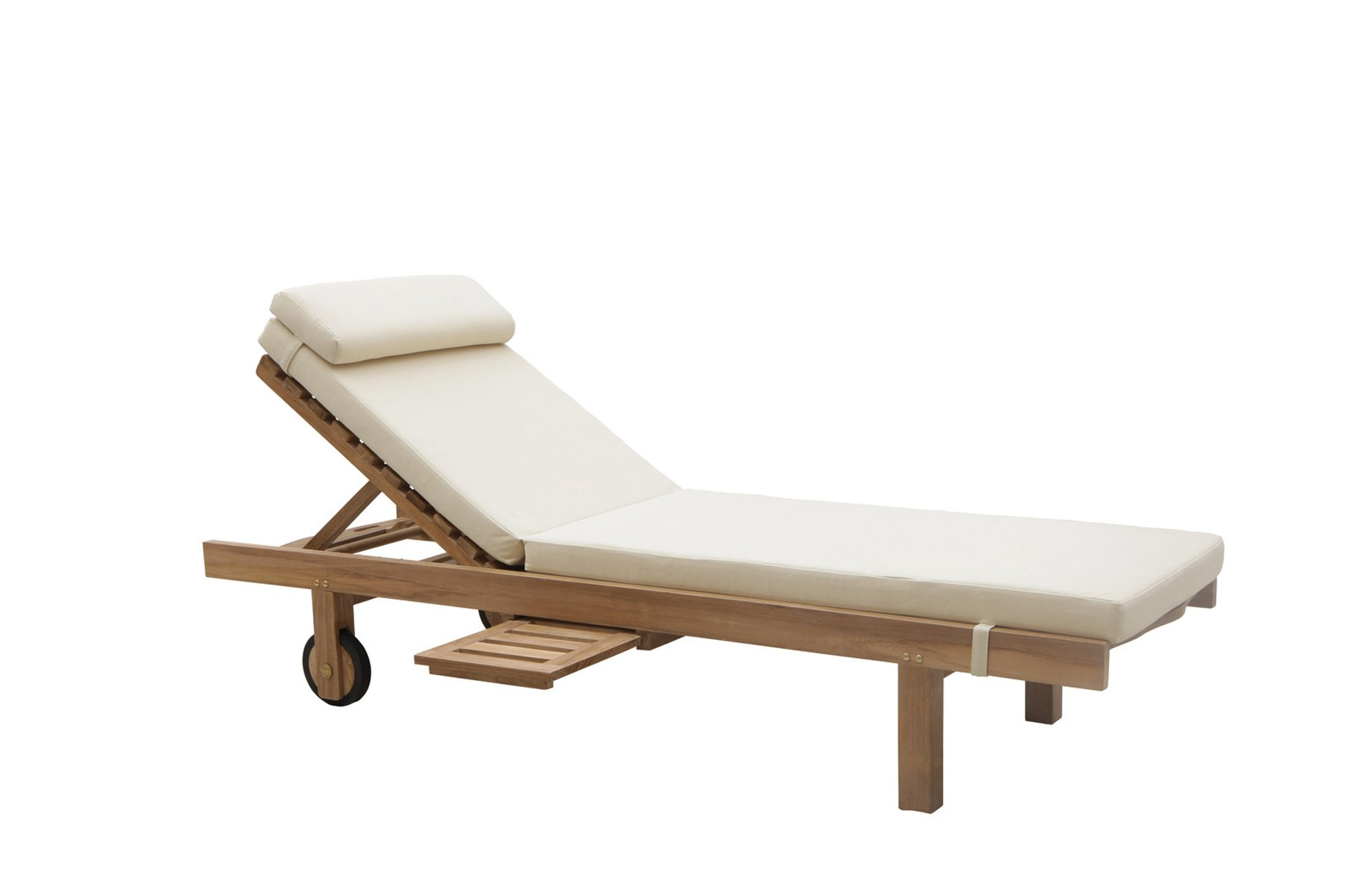 Los Il Giardino With Tray Sunlounger Roques And Wheels Classica DH9EIW2