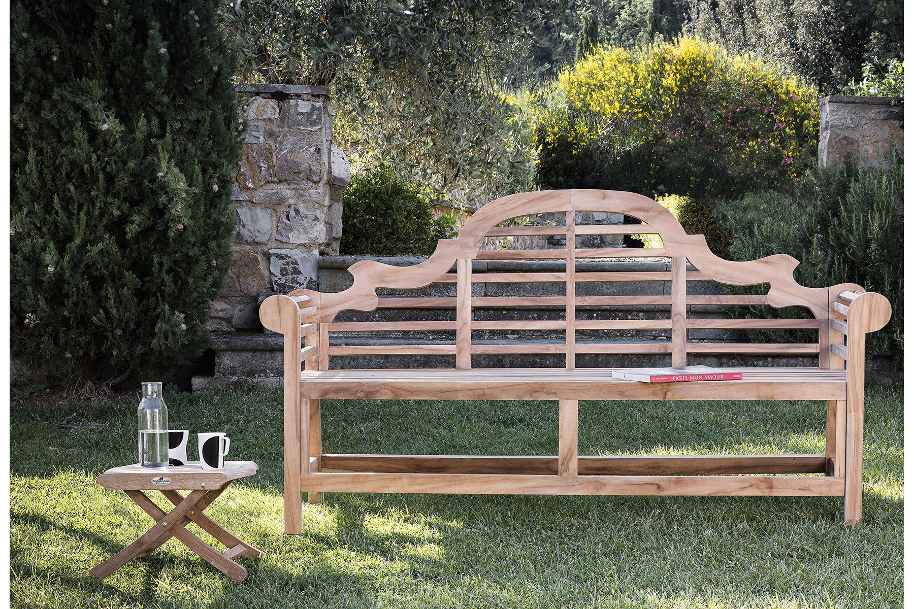 Visualizza dettagli panca inglese il giardino di legno - Panchine da giardino ikea ...