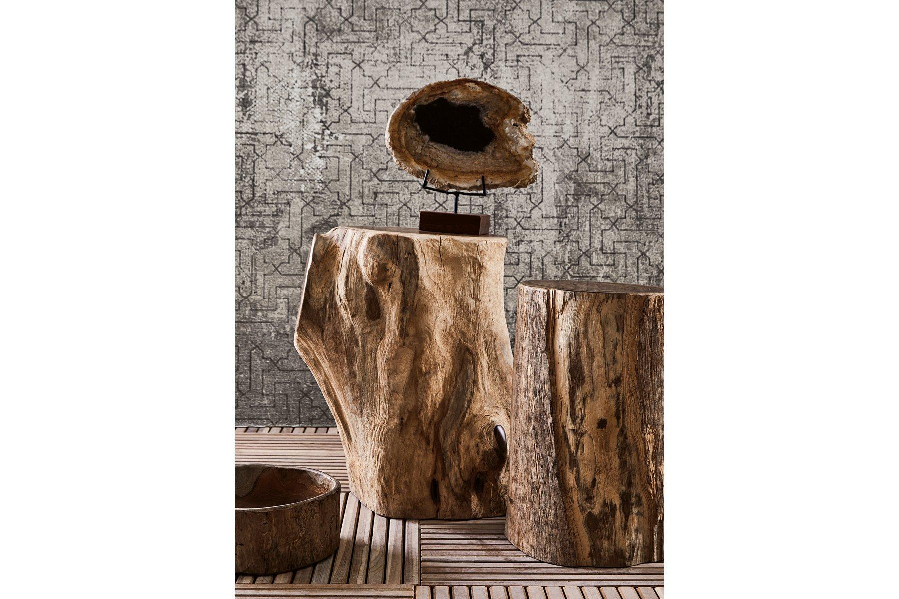 Visualizza dettagli: tronco sgabello grande il giardino di legno