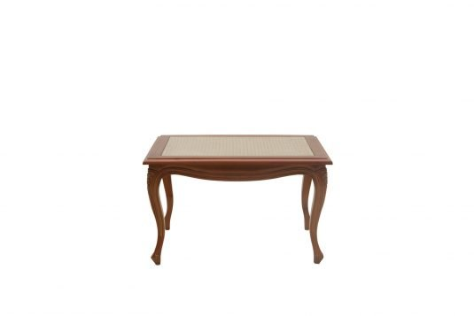 Picture of rectangular coffee table from front