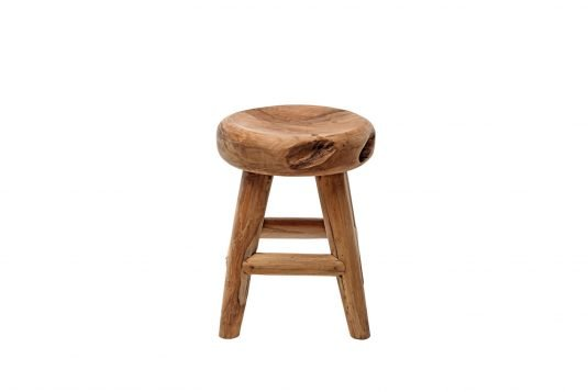 Picture of root stool with protective wood finishing