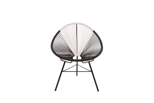 Picture of lounge chair from front