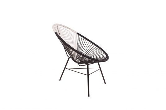 Picture of lounge chair from side