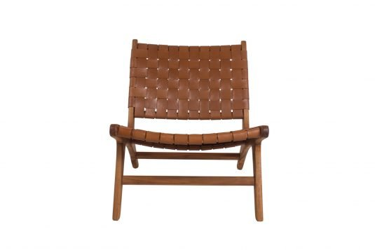 Picture of deckchair from front