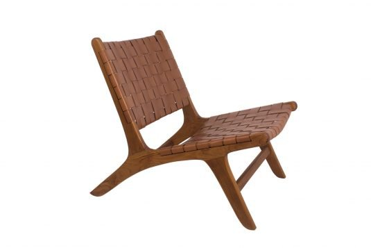 Picture of deckchair from side