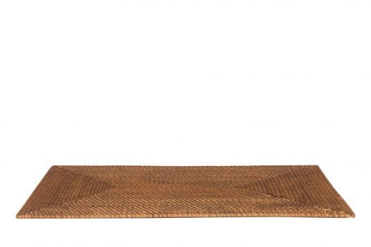 Picture of rattan placemat with natural rattan finishing