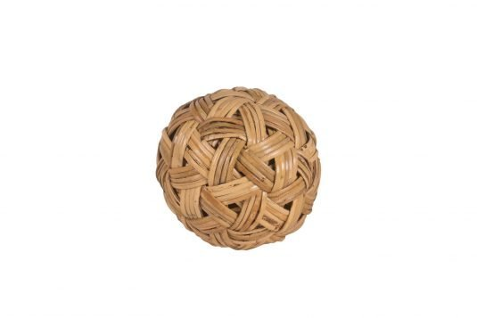 Picture of decorative object large with natural rattan finishing