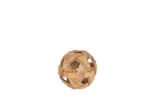 Picture of decorative object small with natural rattan finishing