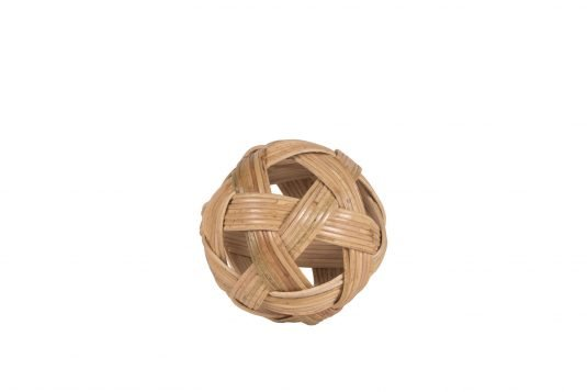 Picture of decorative object with natural rattan finishing