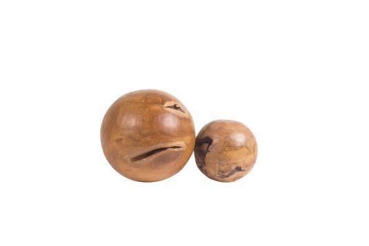 Picture of wood decorative object medium and small