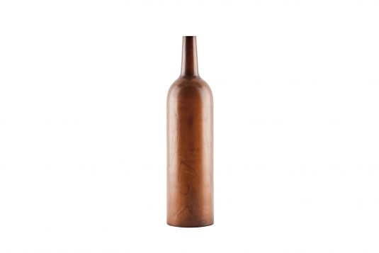 Picture of wooden linear bottle with java brown wood finishing