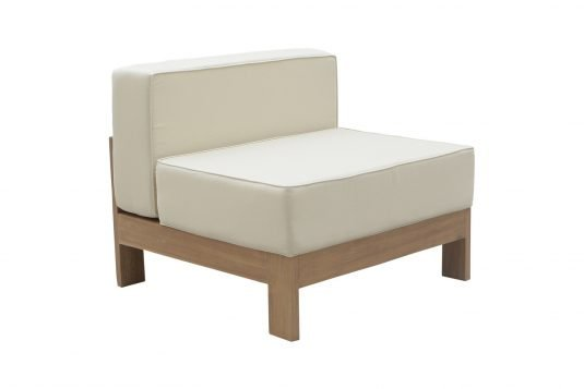 Picture of lounge chair middle unit from side