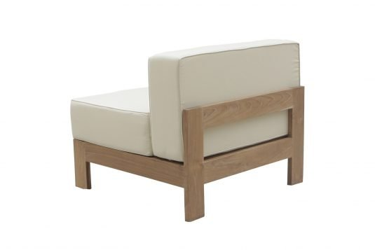 Picture of lounge chair middle unit from behind