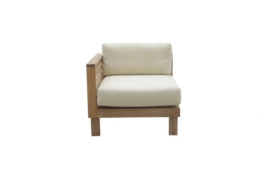 Picture of lounge chair corner unit with left arm