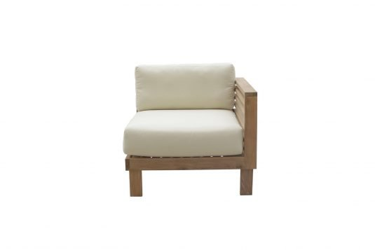 Picture of lounge chair corner unit with right arm