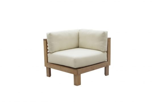 Picture of lounge chair corner unit from side