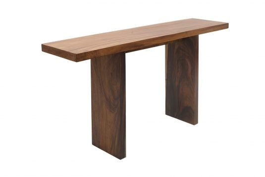 Picture of rectangular bar table / consolle from side