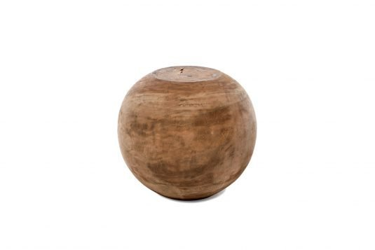 Picture of round side table suar from front