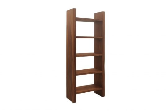 Picture of book shelf with oiled wood finishing