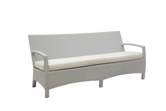Picture of sofa with white wash rattan