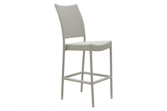Picture of bar chair with white wash rattan
