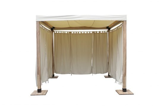 Picture of gazebo frame with base