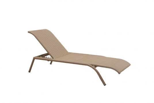 Picture of sunlounger without arms