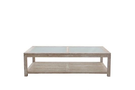 picture of coffe table with glass on top