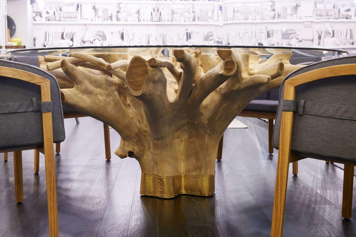 Tavolo radice il giardino di legno - Il giardino di legno ...